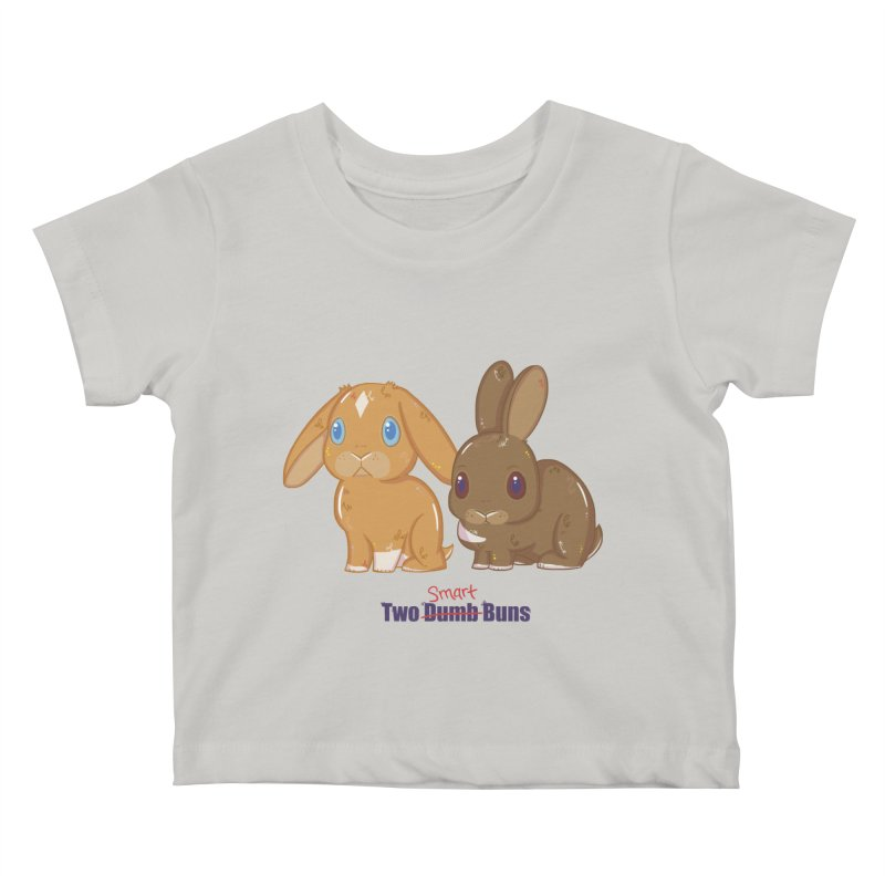 Two Dumb (Smart) Buns Kids Baby T-Shirt by VanillaKirsty's Artist Shop