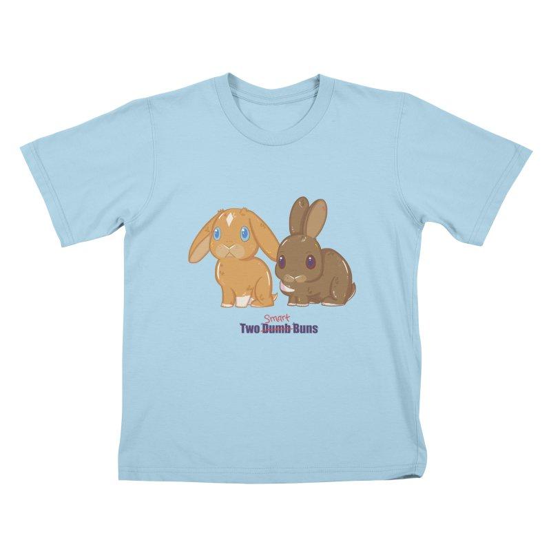 Two Dumb (Smart) Buns Kids T-Shirt by VanillaKirsty's Artist Shop