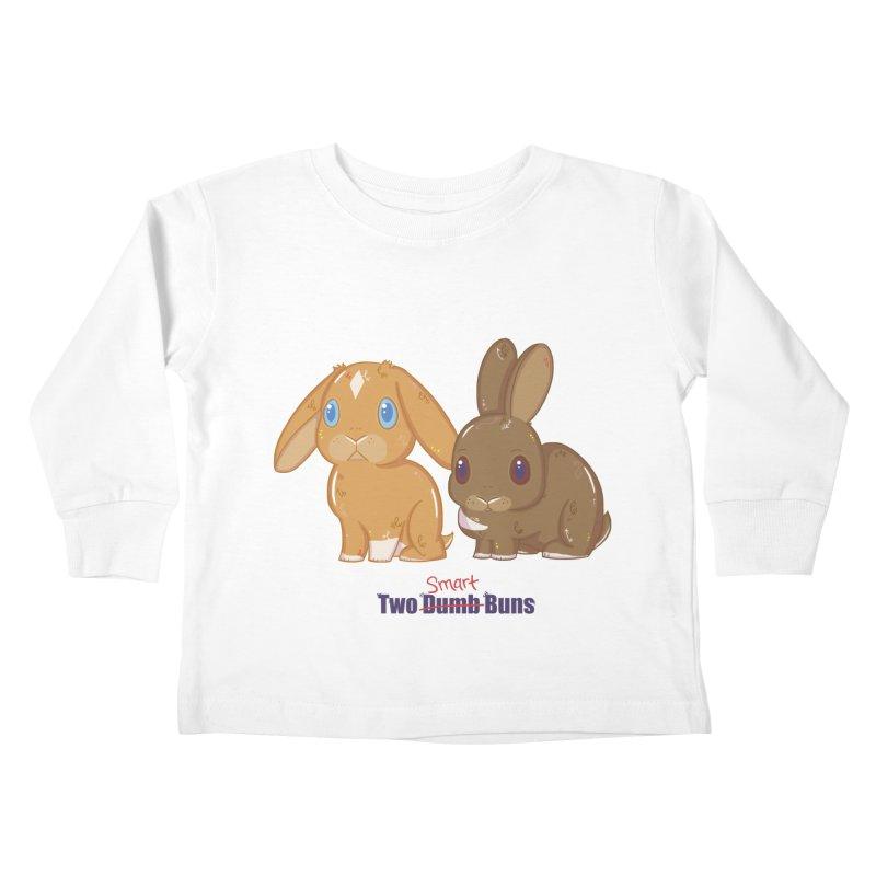 Two Dumb (Smart) Buns Kids Toddler Longsleeve T-Shirt by VanillaKirsty's Artist Shop