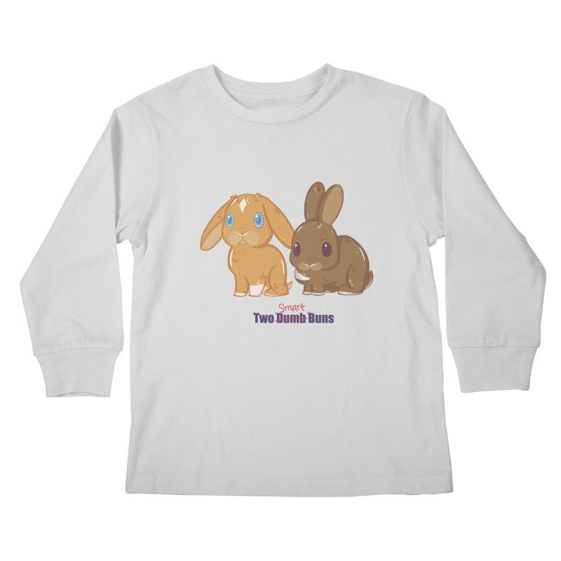 Two Dumb (Smart) Buns Kids Longsleeve T-Shirt by VanillaKirsty's Artist Shop