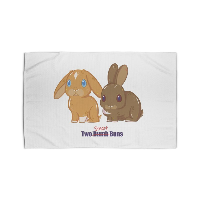 Two Dumb (Smart) Buns Home Rug by VanillaKirsty's Artist Shop