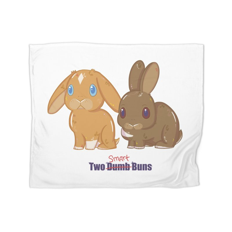 Two Dumb (Smart) Buns Home Blanket by VanillaKirsty's Artist Shop