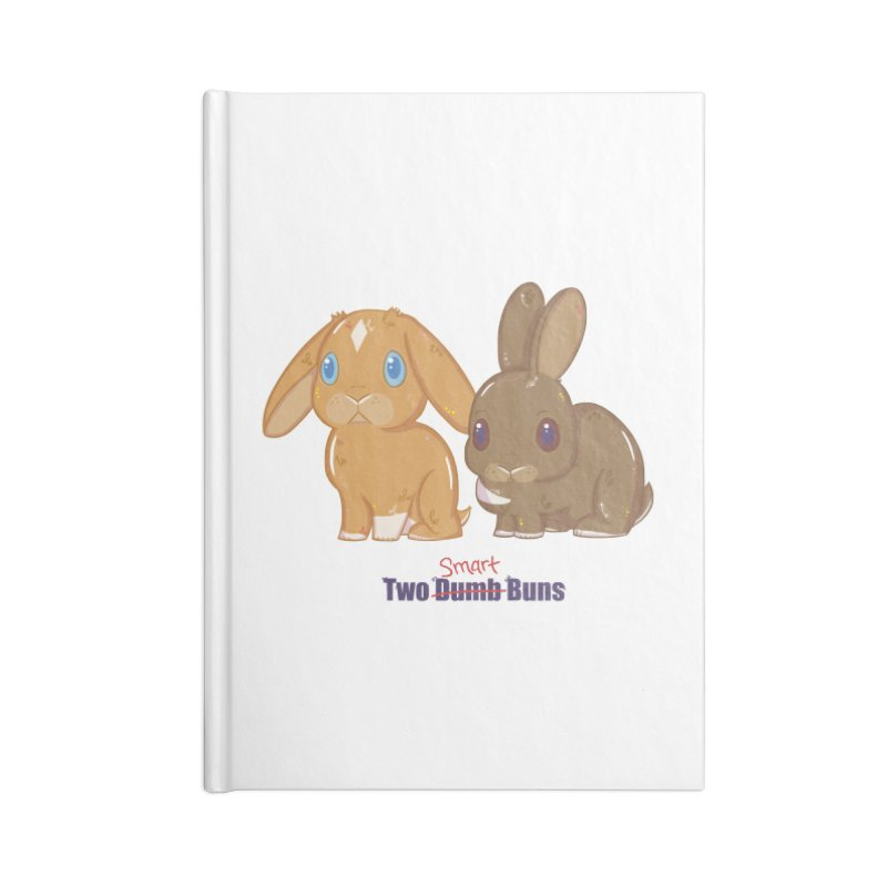 Two Dumb (Smart) Buns Accessories Notebook by VanillaKirsty's Artist Shop