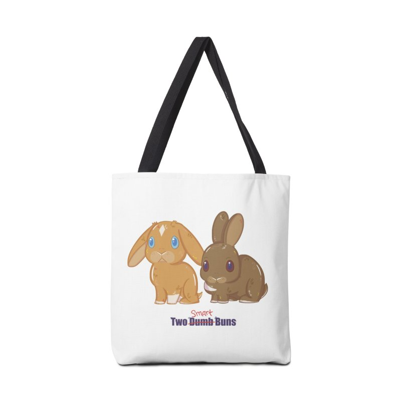 Two Dumb (Smart) Buns Accessories Bag by VanillaKirsty's Artist Shop