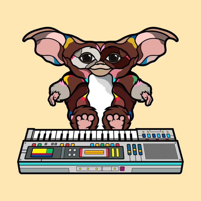 Gizmo None  by Van Orton Design Threadless Shop
