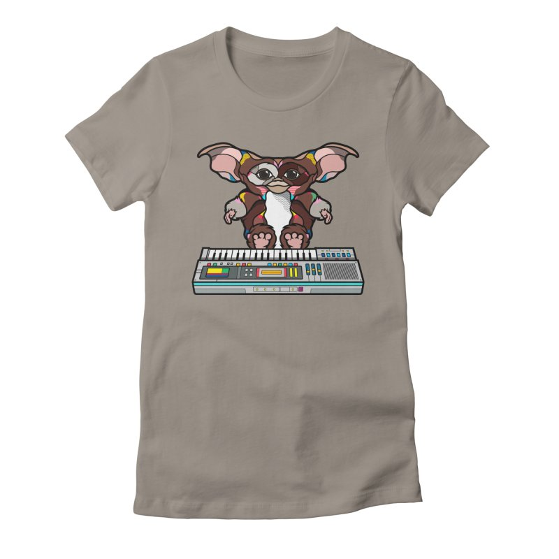 Gizmo Women's Fitted T-Shirt by Van Orton Design Threadless Shop