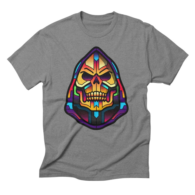 Skeletor Men's Triblend T-shirt by Van Orton Design Threadless Shop