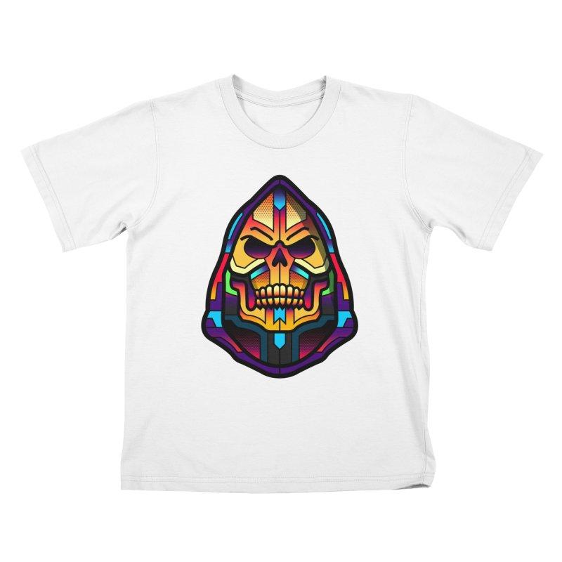Skeletor Kids T-shirt by Van Orton Design Threadless Shop