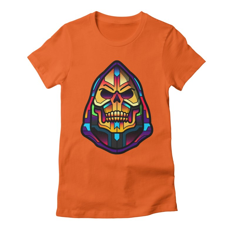 Skeletor Women's Fitted T-Shirt by Van Orton Design Threadless Shop