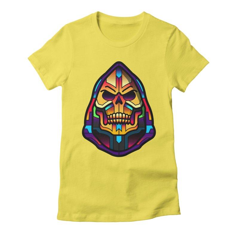 Skeletor Women's Fitted T-Shirt by Van Orton Design Threadless Shop