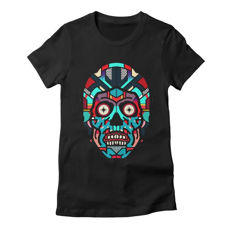They Live Women's Fitted T-Shirt by Van Orton Design Threadless Shop