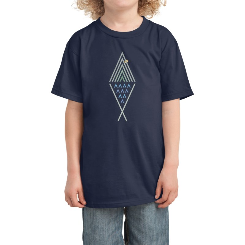Great Outdoors Kids T-Shirt by vanphirst's Artist Shop