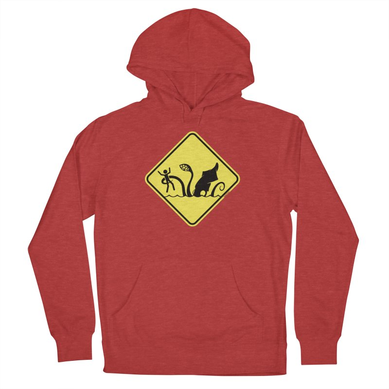 Beach Closed Women's Pullover Hoody by VanTiki's Print Shack
