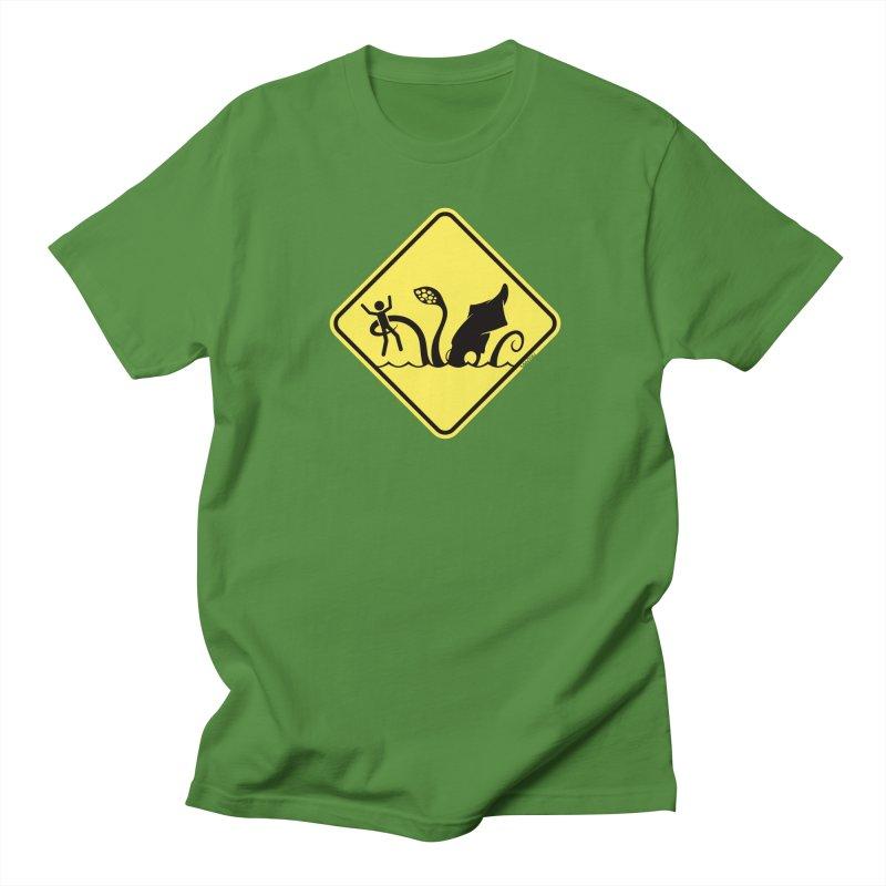 Beach Closed Men's T-Shirt by VanTiki's Print Shack