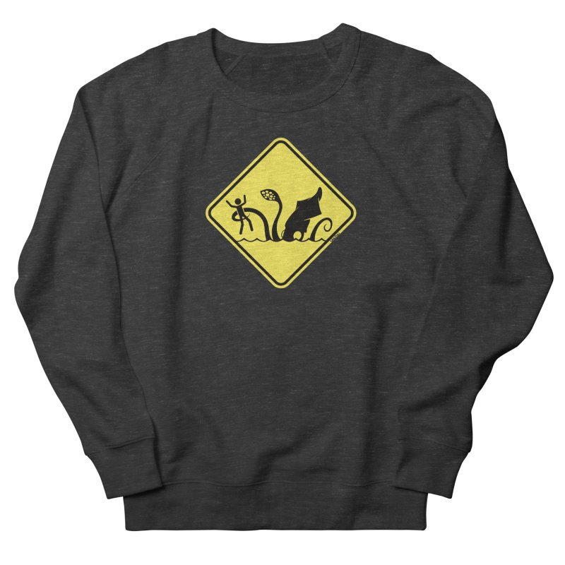 Beach Closed Women's Sweatshirt by VanTiki's Print Shack
