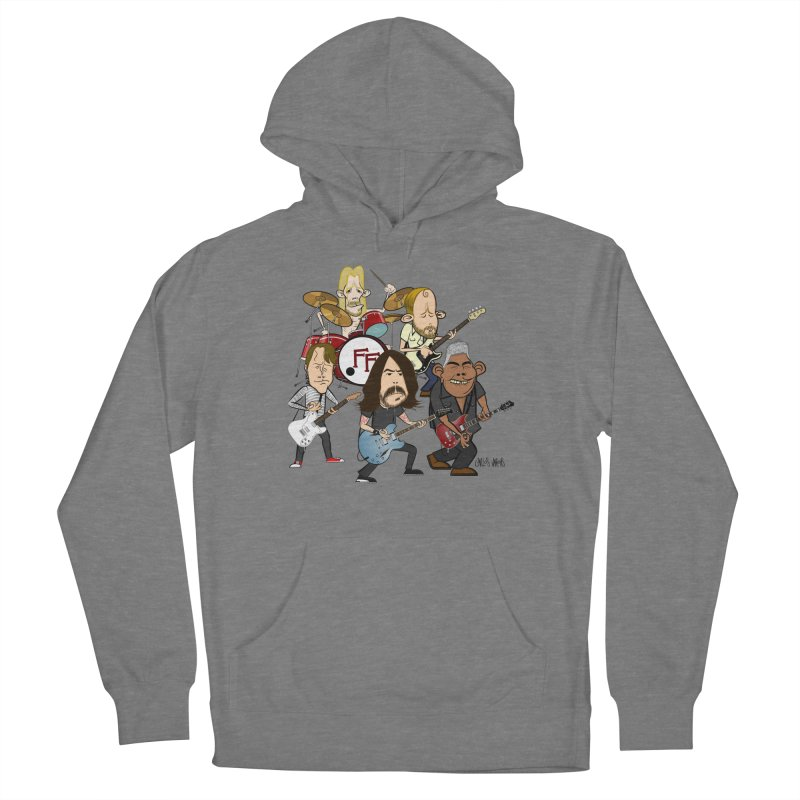 Dave & the Foo's Women's Pullover Hoody by Vargas Toons Shop