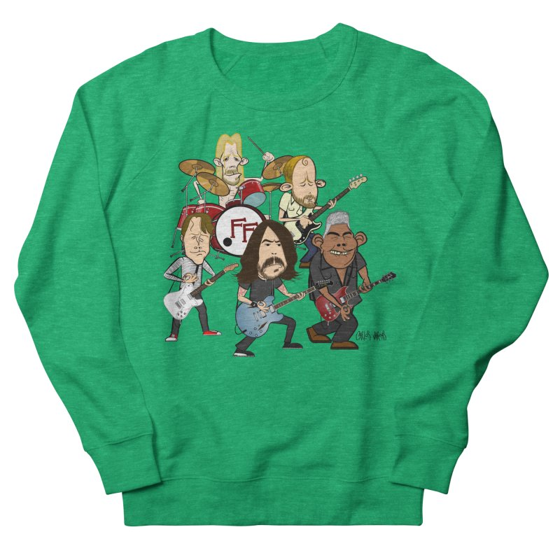 Dave & the Foo's Women's Sweatshirt by Vargas Toons Shop