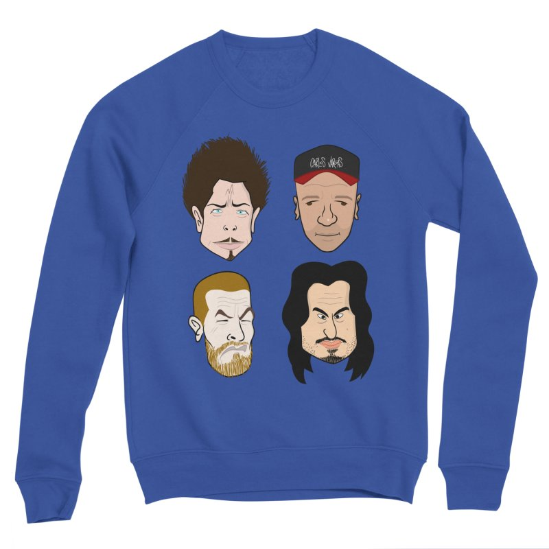 Slaves of sound Men's Sweatshirt by Vargas Toons Shop