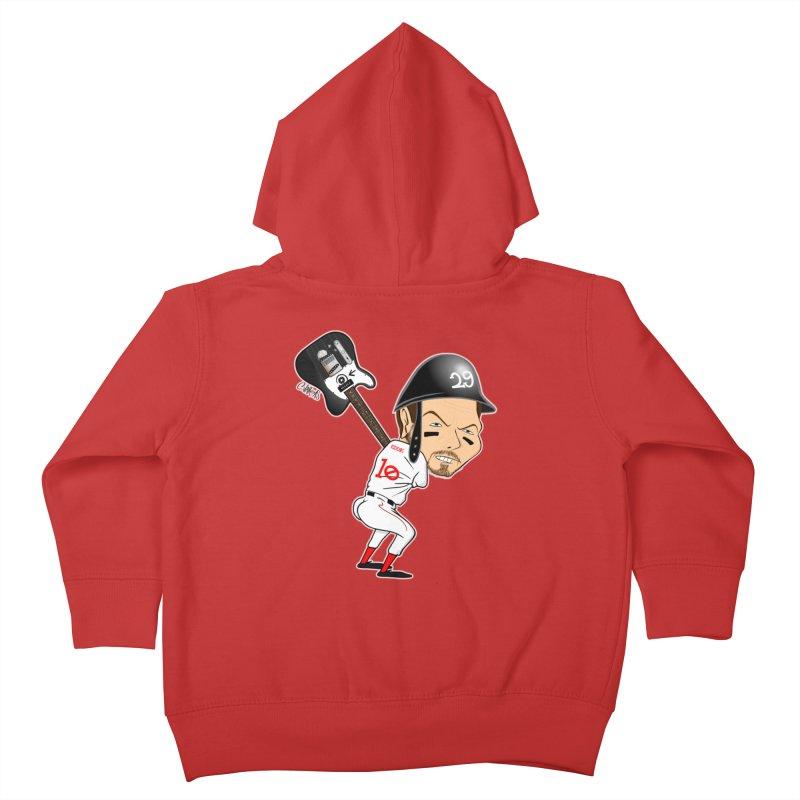 Ed Baseball Kids Toddler Zip-Up Hoody by Vargas Toons Shop