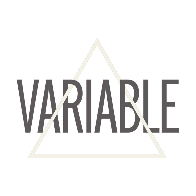 Variable Grayscale Men's T-shirt by Variable Tees