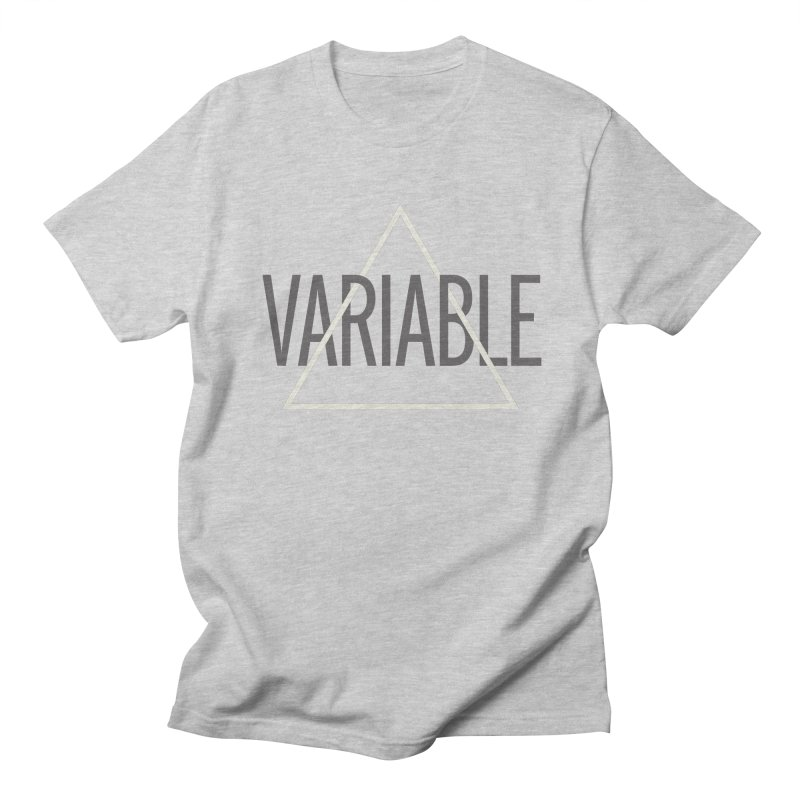 Variable Grayscale in Men's T-Shirt Heather Grey by Variable Tees