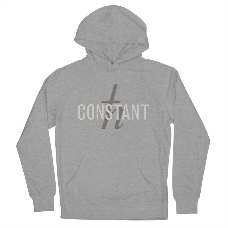 Constant Grayscale Men's French Terry Pullover Hoody by Variable Tees
