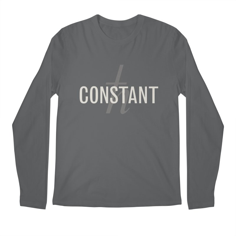 Constant Grayscale Men's Longsleeve T-Shirt by Variable Tees