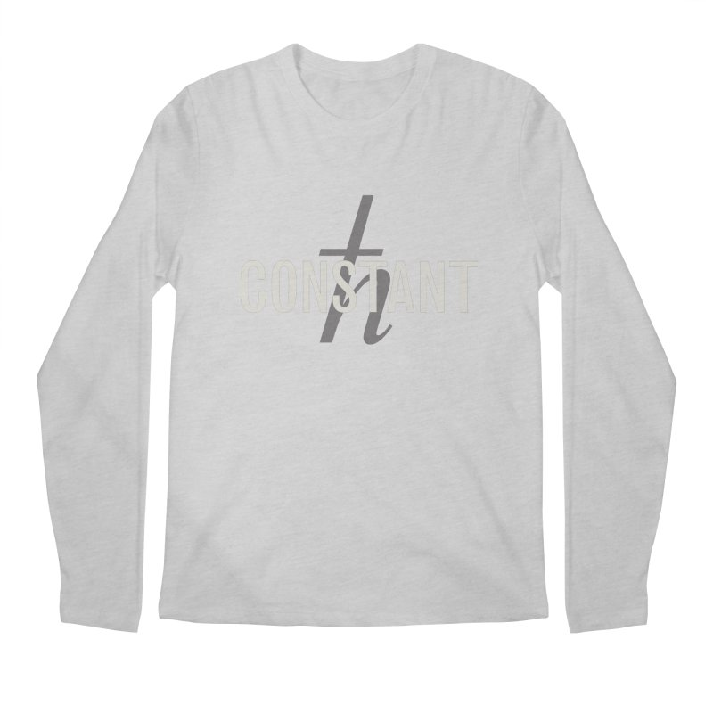 Constant Grayscale Men's Regular Longsleeve T-Shirt by Variable Tees