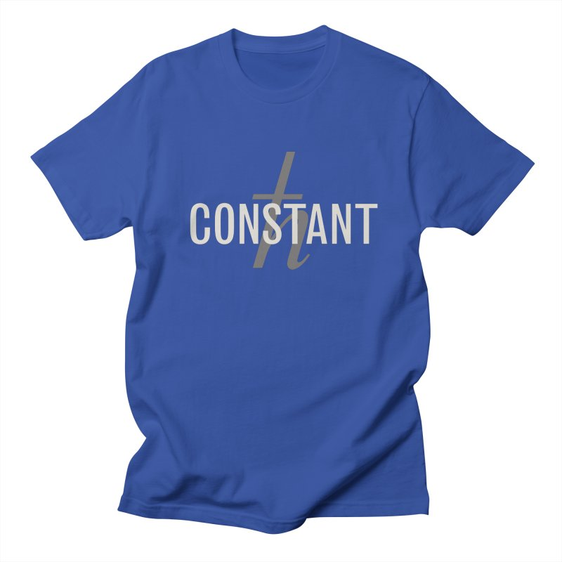Constant Grayscale Men's T-shirt by Variable Tees