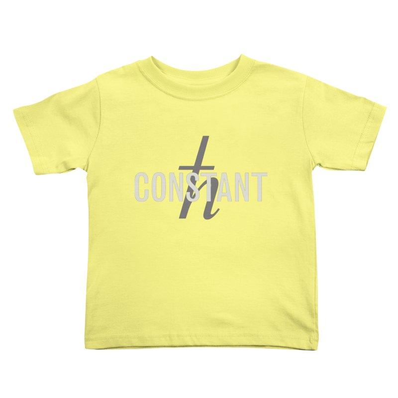 Constant Grayscale Kids Toddler T-Shirt by Variable Tees