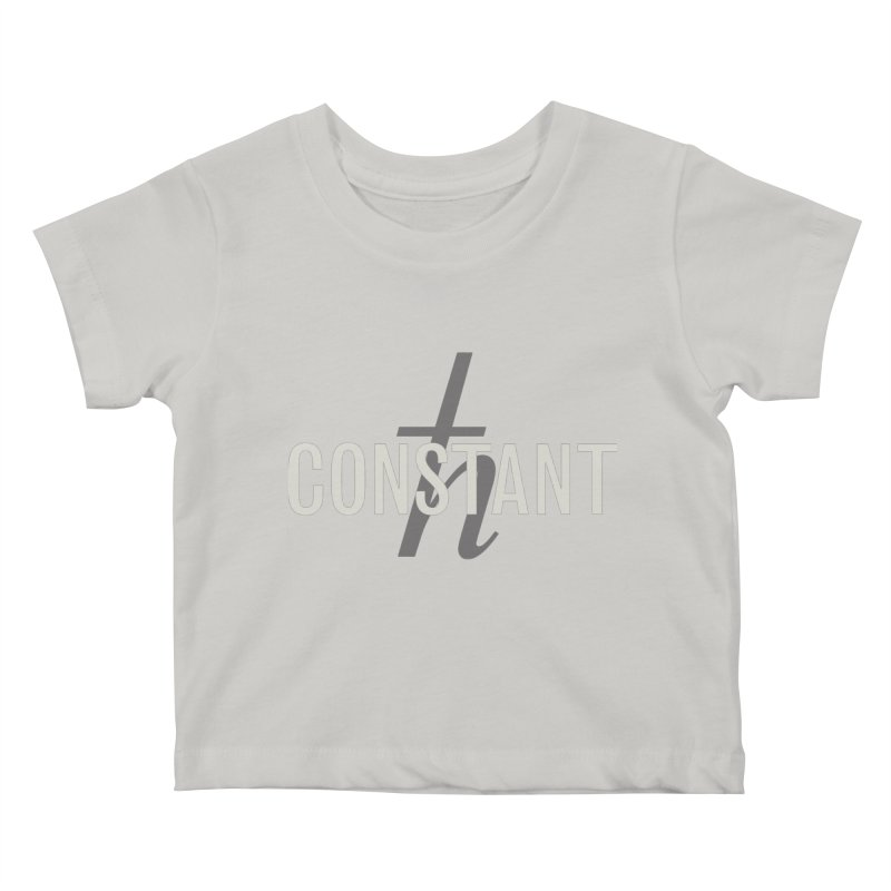 Constant Grayscale Kids Baby T-Shirt by Variable Tees