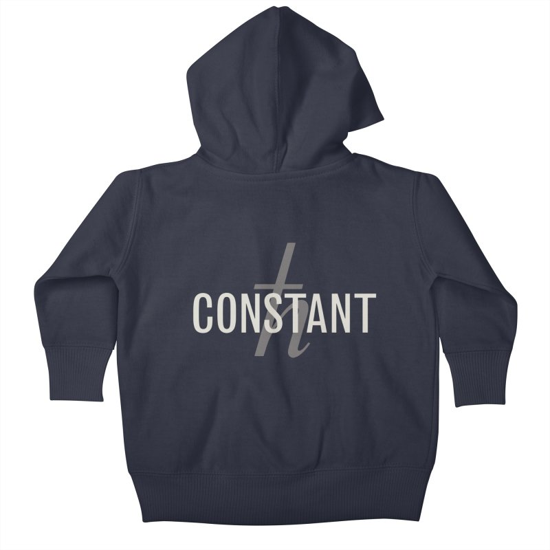 Constant Grayscale Kids Baby Zip-Up Hoody by Variable Tees