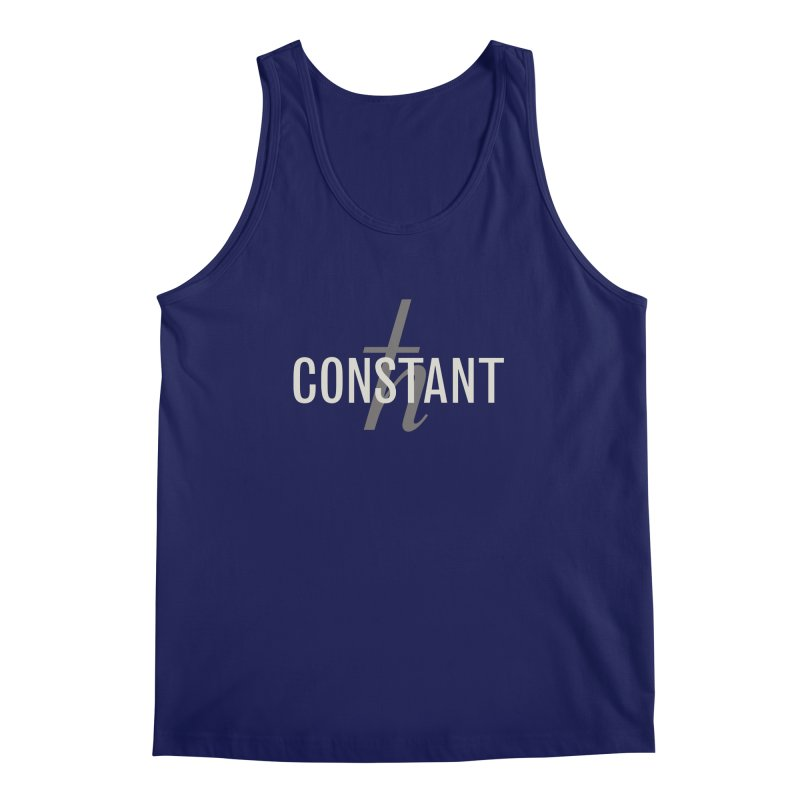 Constant Grayscale Men's Regular Tank by Variable Tees