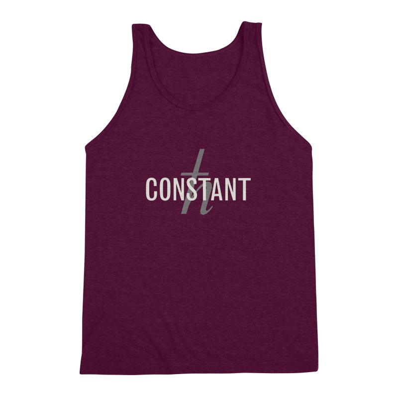 Constant Grayscale Men's Triblend Tank by Variable Tees