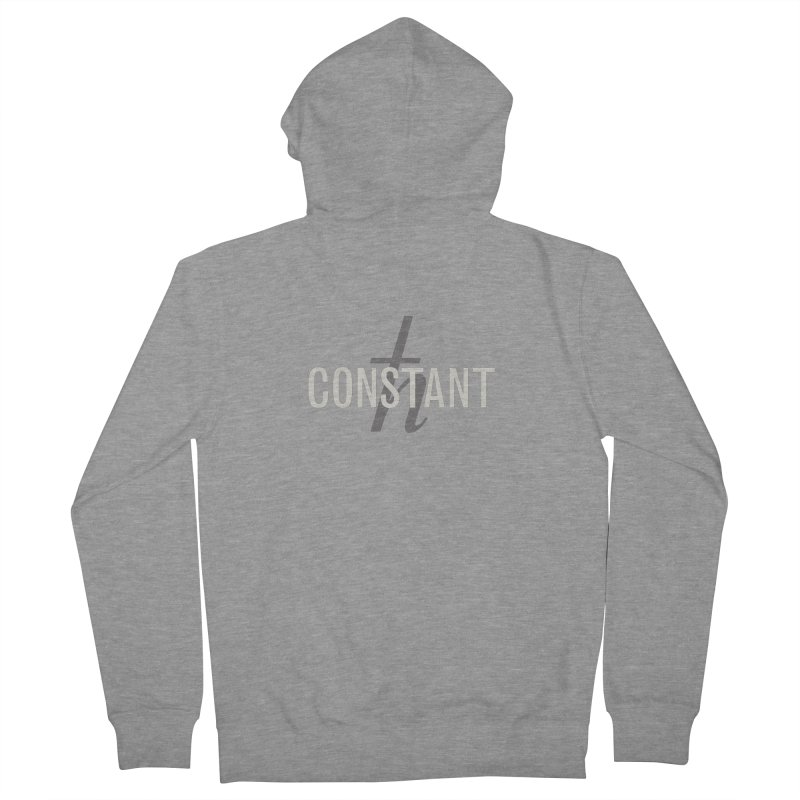 Constant Minimum Men's French Terry Zip-Up Hoody by Variable Tees