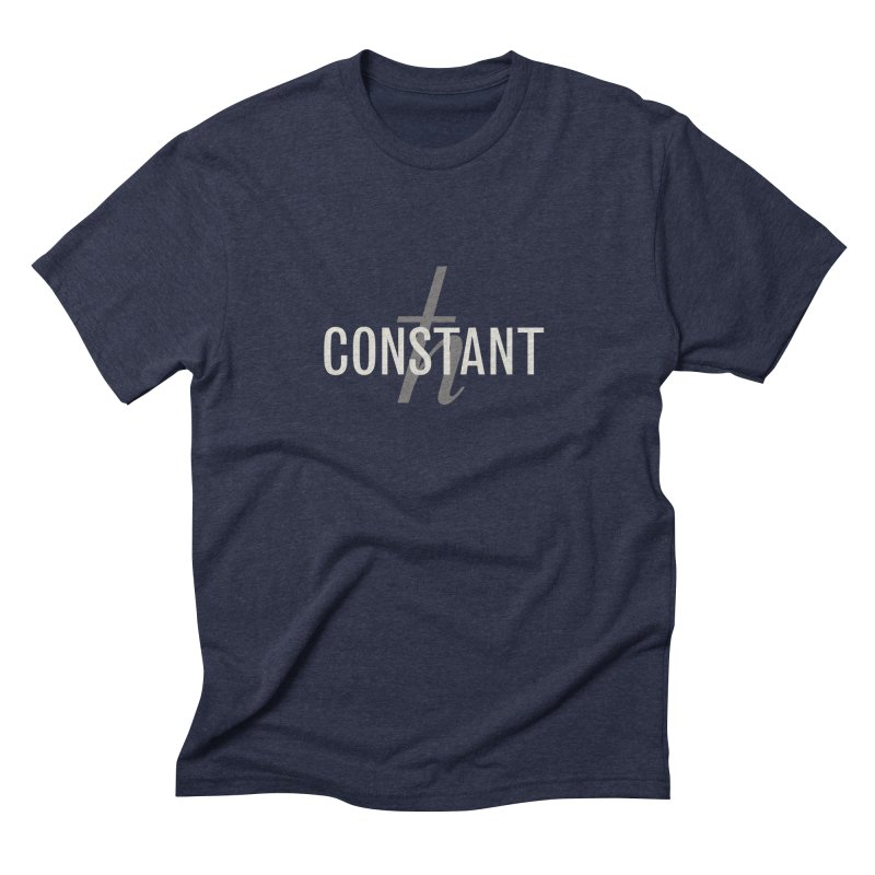 Constant Minimum Men's Triblend T-Shirt by Variable Tees
