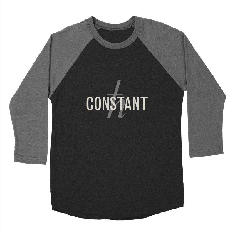 Constant Minimum Men's Baseball Triblend Longsleeve T-Shirt by Variable Tees