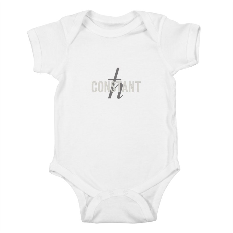 Constant Minimum Kids Baby Bodysuit by Variable Tees