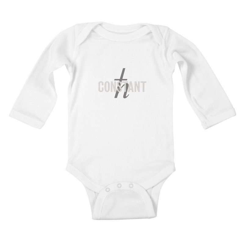 Constant Minimum Kids Baby Longsleeve Bodysuit by Variable Tees