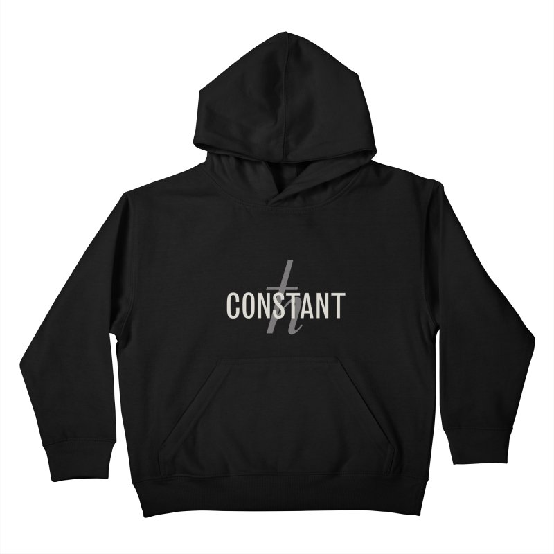 Constant Minimum Kids Pullover Hoody by Variable Tees