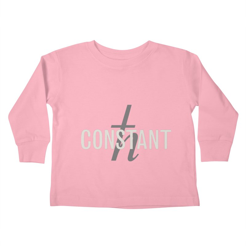 Constant Minimum Kids Toddler Longsleeve T-Shirt by Variable Tees