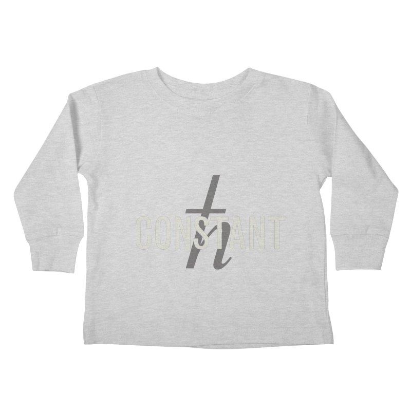 Constant Minimum Kids Toddler Longsleeve T-Shirt by Variable Tees
