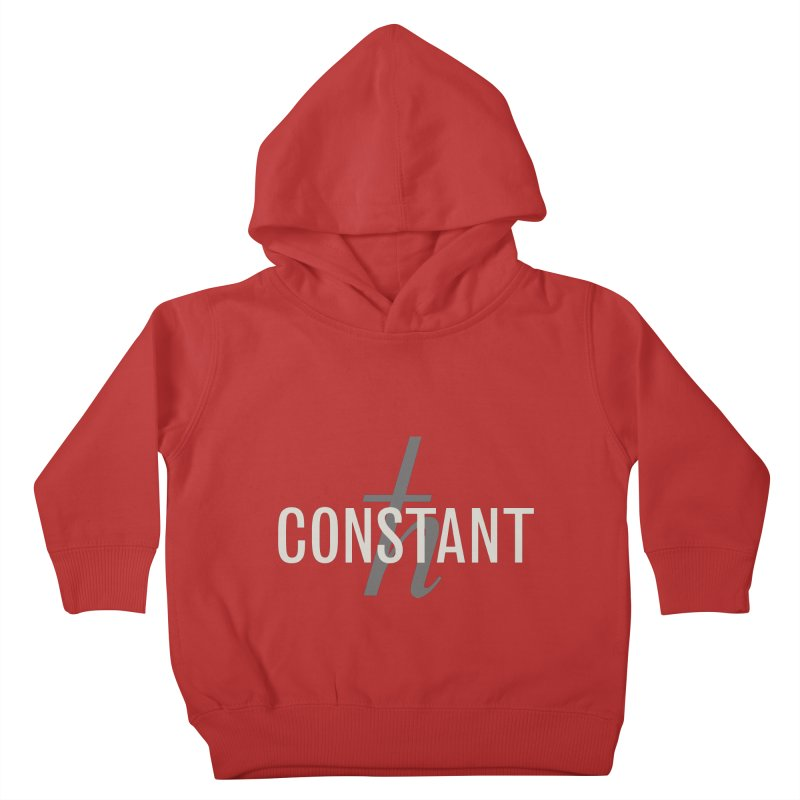 Constant Minimum Kids Toddler Pullover Hoody by Variable Tees