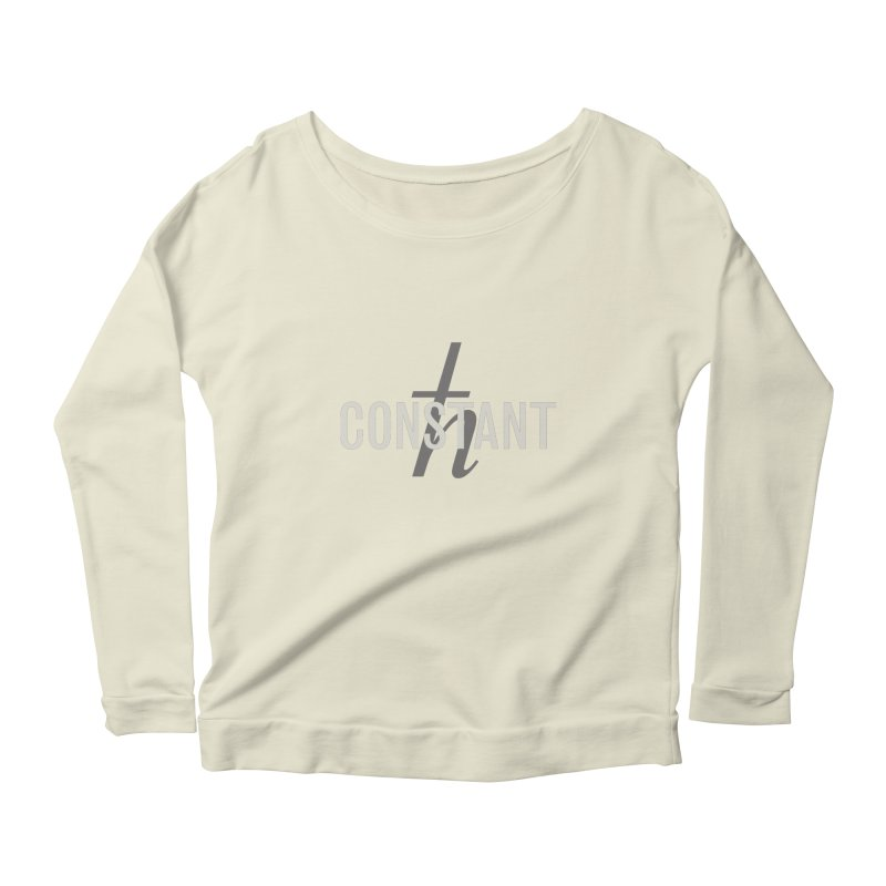 Constant Minimum Women's Scoop Neck Longsleeve T-Shirt by Variable Tees