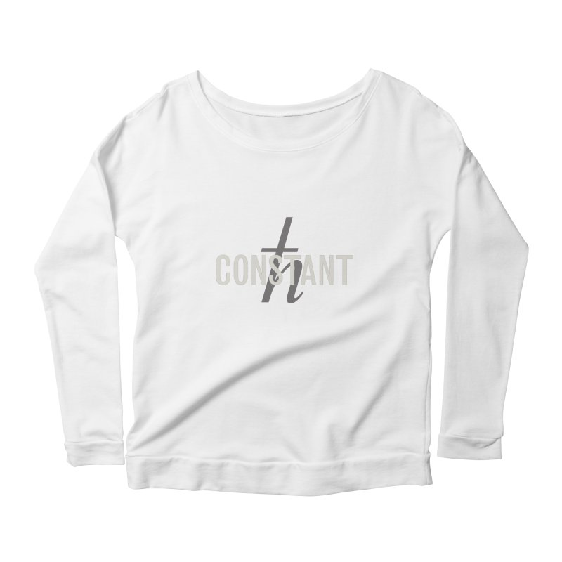 Constant Minimum Women's Scoop Neck Longsleeve T-Shirt by Variable Tees