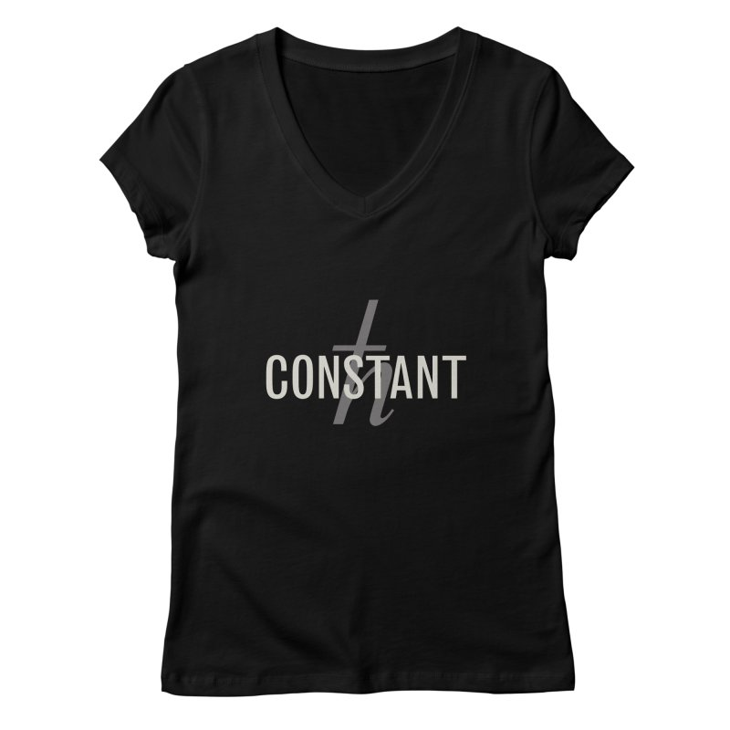 Constant Minimum Women's V-Neck by Variable Tees