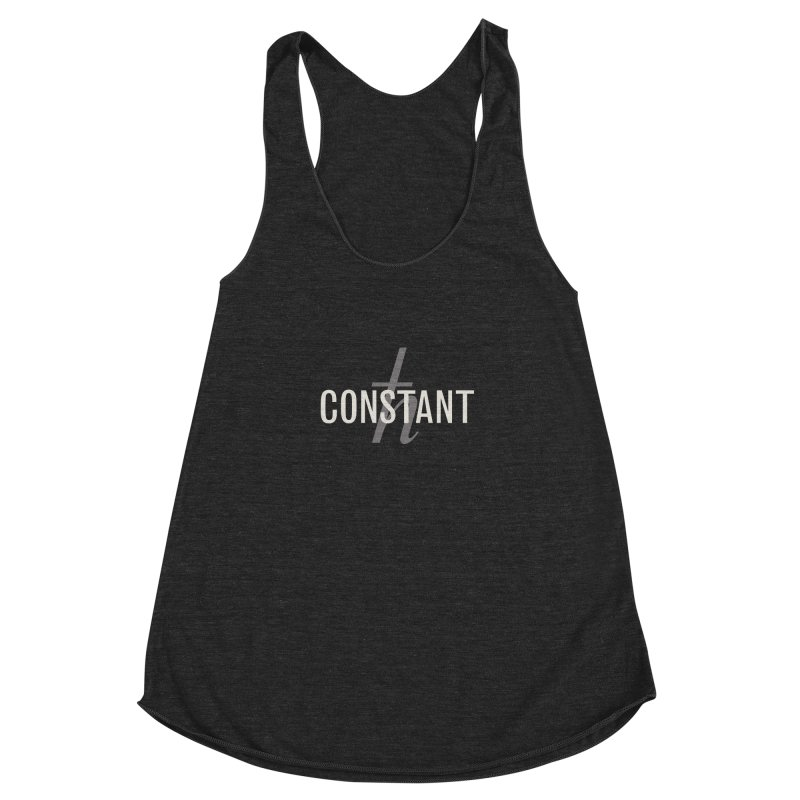 Constant Minimum Women's Racerback Triblend Tank by Variable Tees