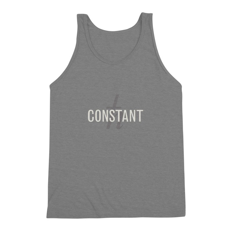 Constant Minimum Men's Triblend Tank by Variable Tees