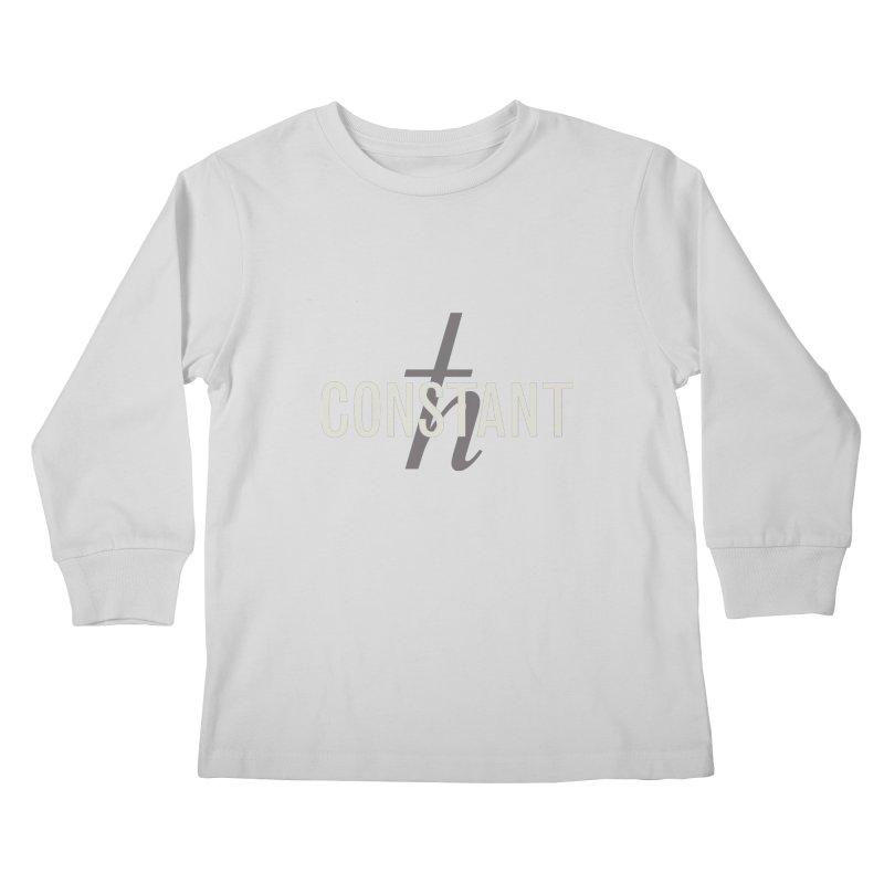 Constant Minimum Kids Longsleeve T-Shirt by Variable Tees