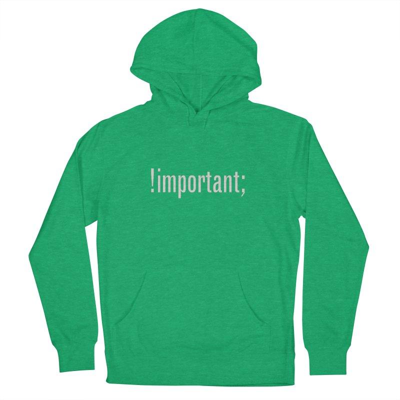 !important; Minimum Men's Pullover Hoody by Variable Tees